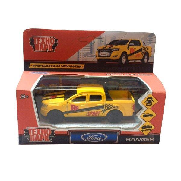 Технопарк Металлическая инерционная модель Ford Ranger Спорт