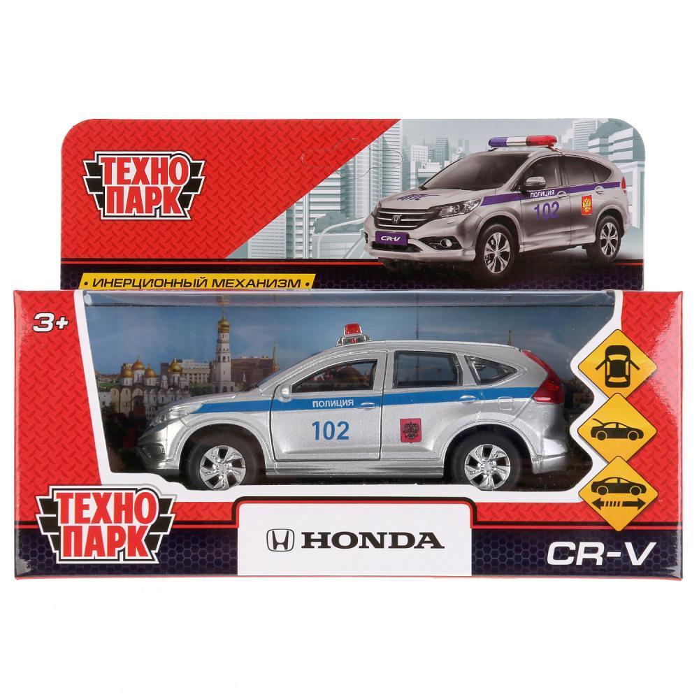 """Технопарк Металлическая инерционная модель Honda CR-V """"Полиция"""""""