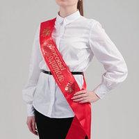 Лента 'Классный руководитель', атлас красный (комплект из 2 шт.)