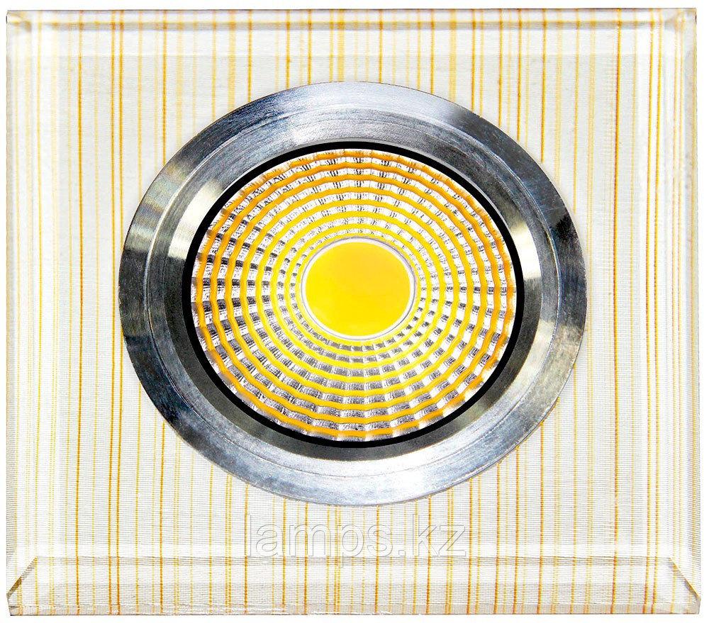 Спот встраиваемый светодиодный LED SPD-PET