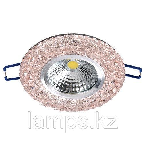 Спот встраиваемый светодиодный LED XN-0210 Pink