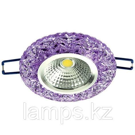 Спот встраиваемый светодиодный LED XN-0215 Purple , фото 2