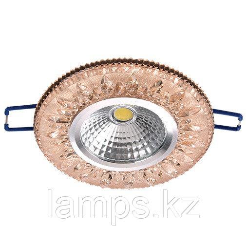 Спот встраиваемый светодиодный LED XN-0219 Pink