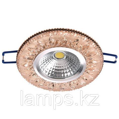 Спот встраиваемый светодиодный LED XN-0219 Pink , фото 2