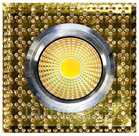 Спот встраиваемый светодиодный LED QZFG-03 , фото 2