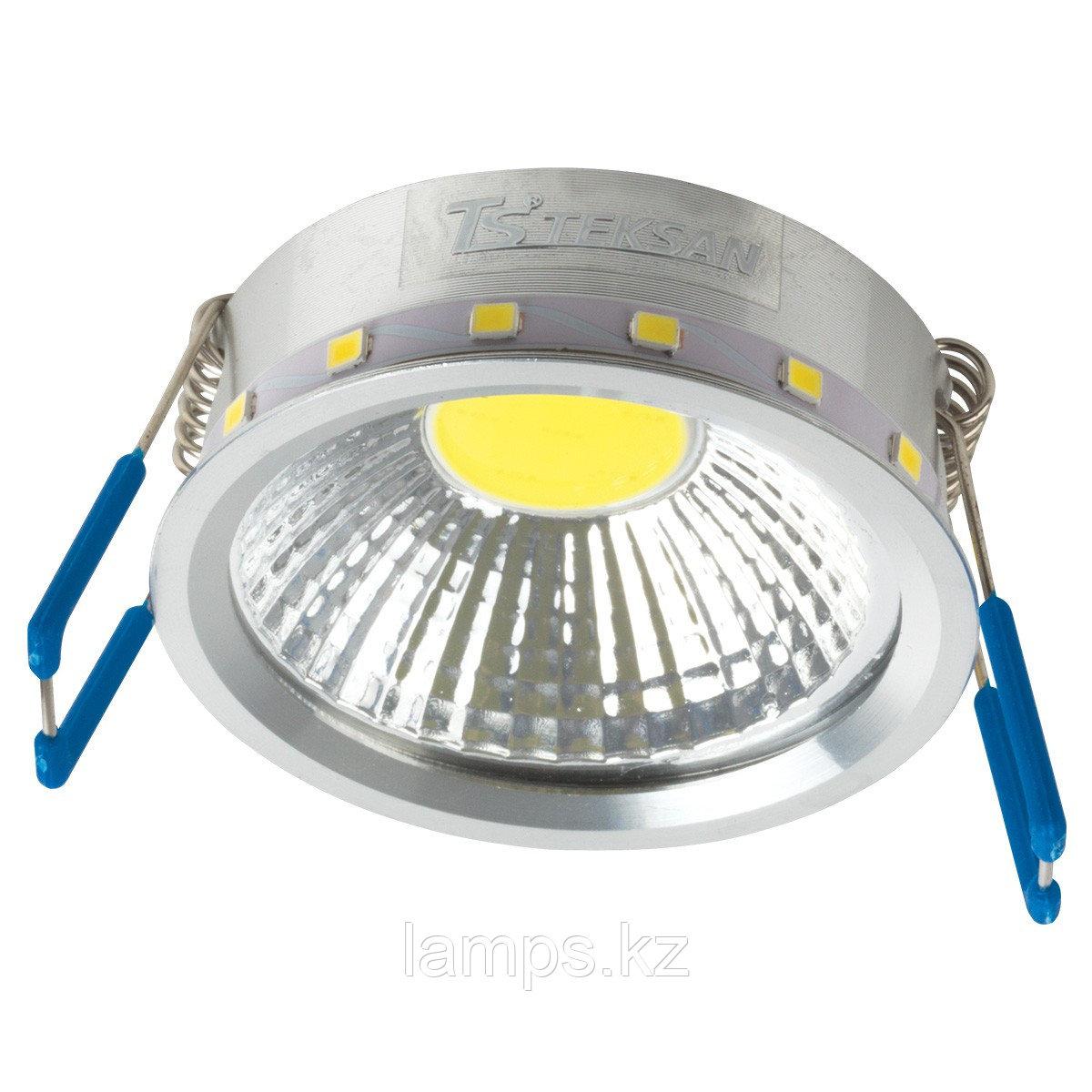 Лампа для встраиваемого светодиодного спота COB CHROME
