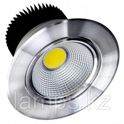 Спот встраиваемый светодиодный LED COB 02 5W CH, фото 2