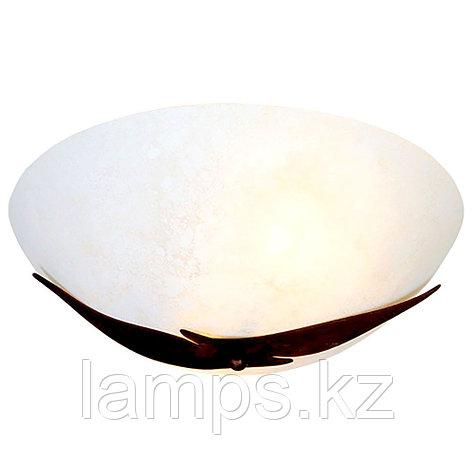 Настенно-потолочный светильник C7762-2 E27 60W COFFEE BR GD/RED, фото 2