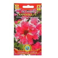 Семена цветов Петуния Каркулка F1 'Кружевница F1', О, драже 10 шт. (комплект из 10 шт.)