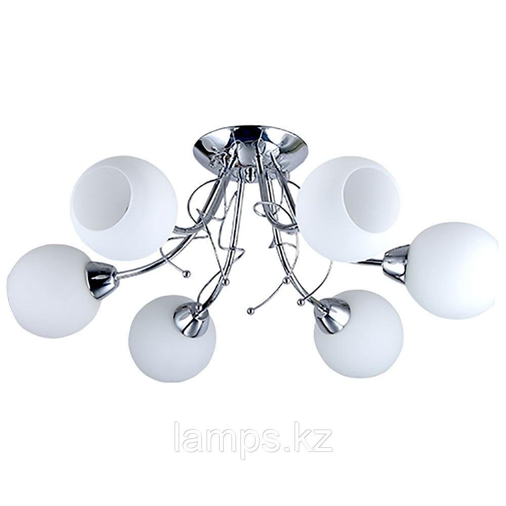 Люстра потолочная MX21017-6 CHROME
