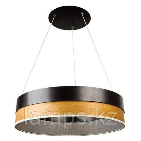 Люстра подвесная LED H0119SB 43W 2700K BLACK, фото 2