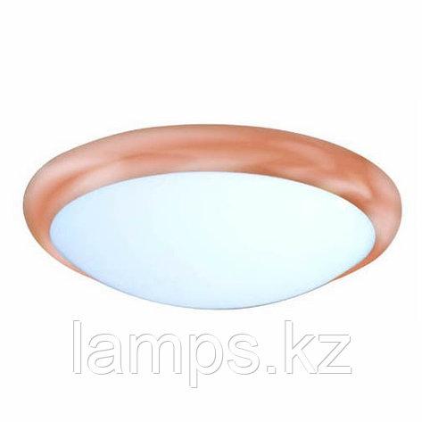 Светильник светодиодный настенный потолочный круглый LED Dorris 20W 5500K Rose Gold D30cm, фото 2
