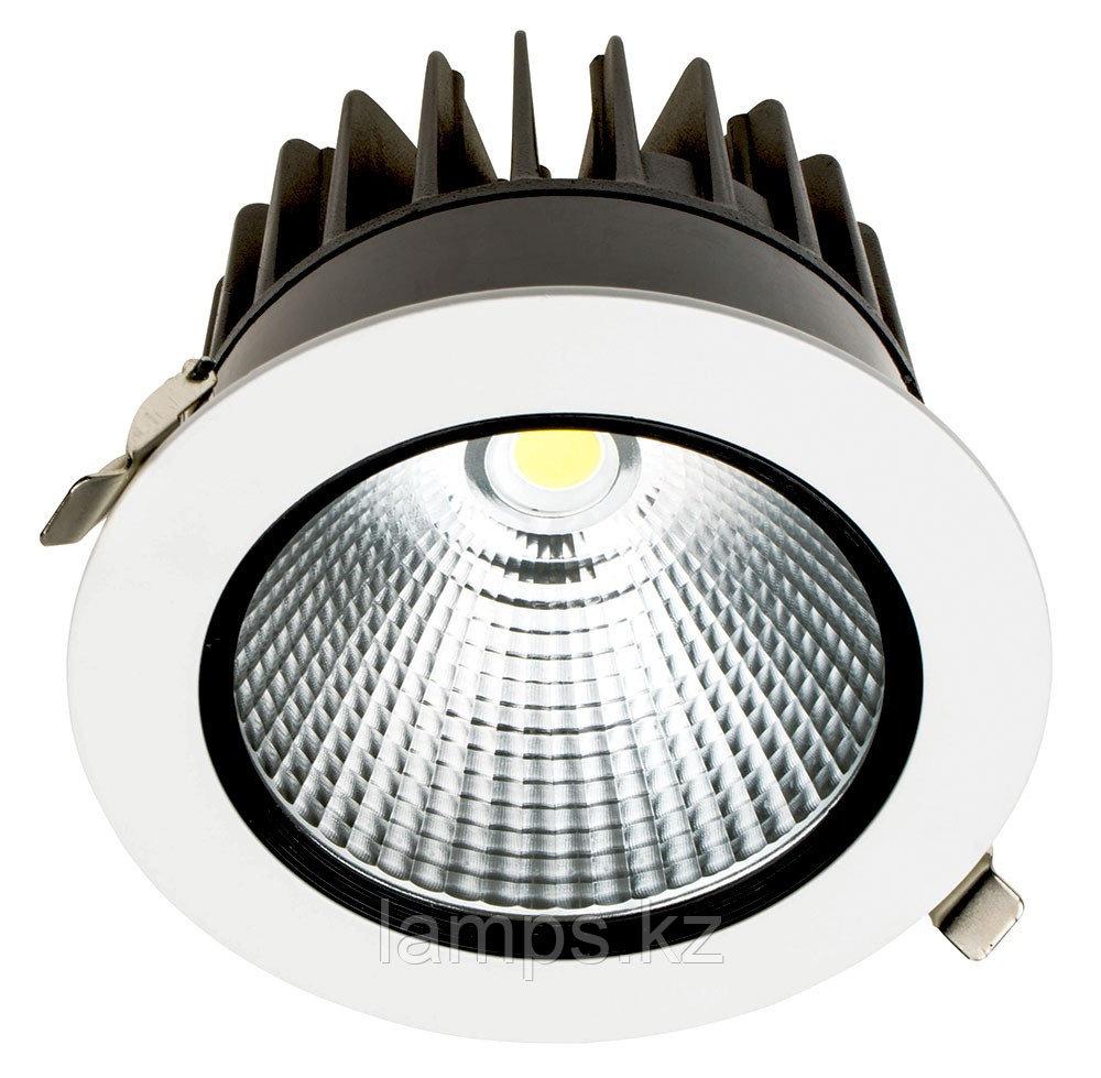 Светильник направленного света, светодиодный, потолочный LED P1 30W WH 3000K