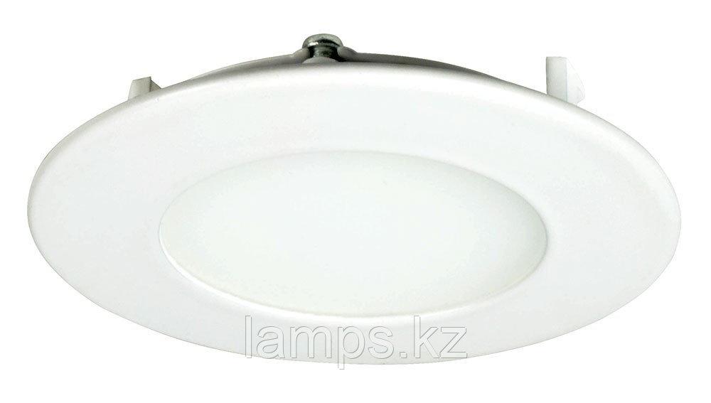 Панель светодиодная, круглая, белая, встраиваемая, потолочная DL LED ROUND PANEL 3W 3000K