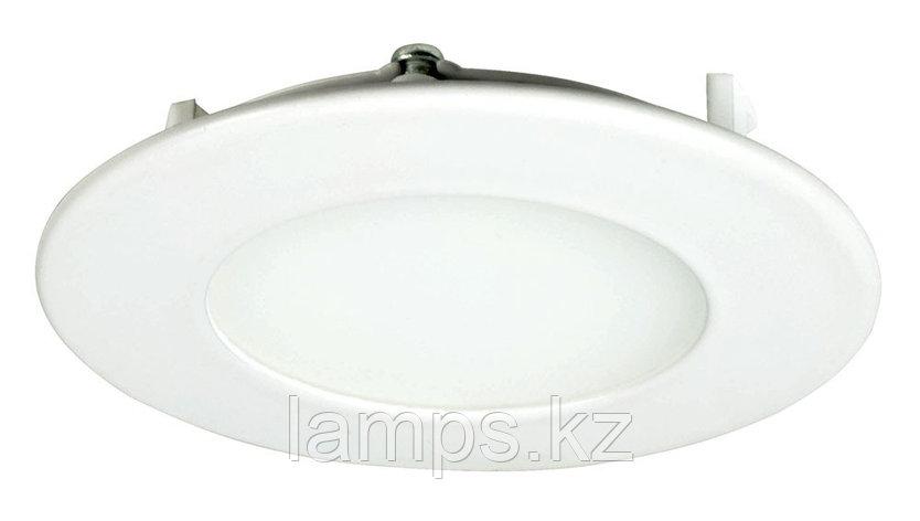 Панель светодиодная, круглая, белая, встраиваемая, потолочная DL LED ROUND PANEL 3W 3000K, фото 2