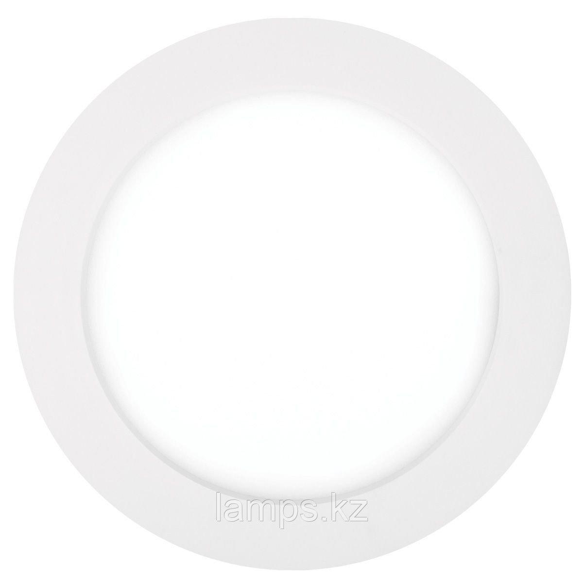 Панель светодиодная, круглая, белая, встраиваемая, потолочная DL LED ROUND PANEL 12W 4500K