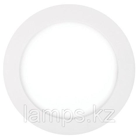Панель светодиодная, круглая, белая, встраиваемая, потолочная DL LED ROUND PANEL 24W 4500K, фото 2