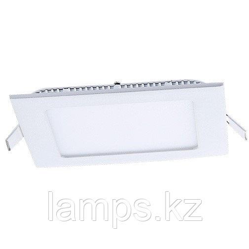 Панель светодиодная, квадратная, белая, встраиваемая, потолочная DL LED KVADRO PANEL 3W 6000K
