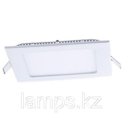 Панель светодиодная, квадратная, белая, встраиваемая, потолочная DL LED KVADRO PANEL 3W 6000K, фото 2
