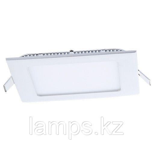 Панель светодиодная, квадратная, белая, встраиваемая, потолочная DL LED KVADRO PANEL12W 4500K