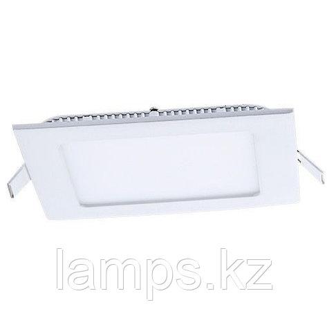 Панель светодиодная, квадратная, белая, встраиваемая, потолочная DL LED KVADRO PANEL12W 4500K, фото 2