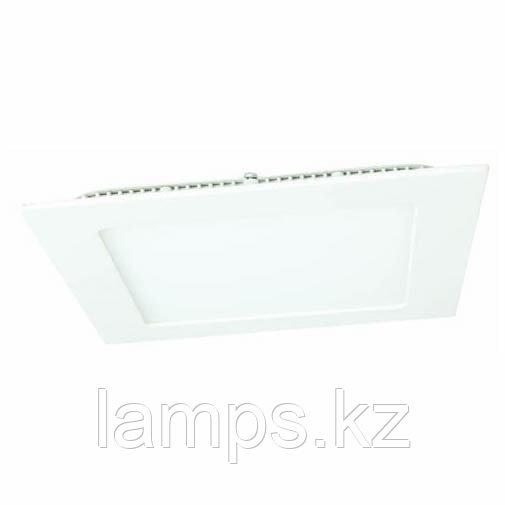 Панель светодиодная, квадратная, белая, встраиваемая, потолочная DL LED KVADRO PANEL18W 3000K