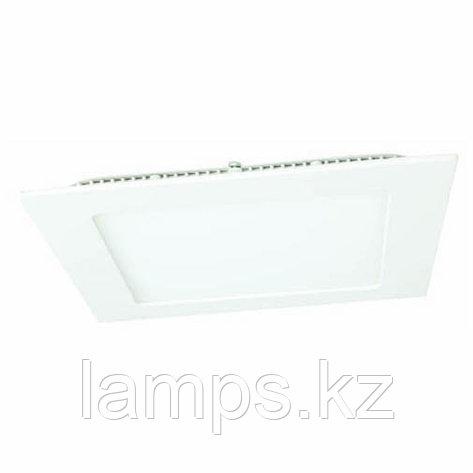Панель светодиодная, квадратная, белая, встраиваемая, потолочная DL LED KVADRO PANEL18W 3000K, фото 2