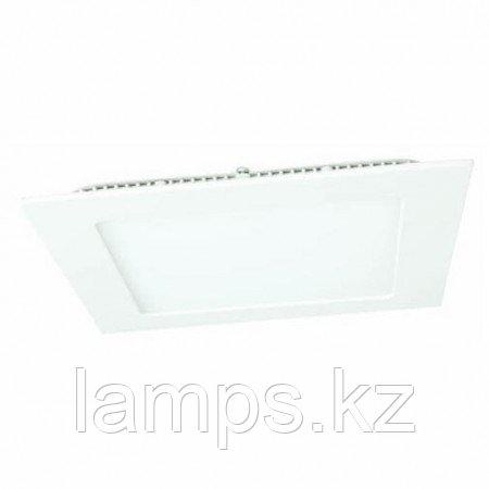 Панель светодиодная, квадратная, белая, встраиваемая, потолочная DL LED KVADRO PANEL 18W 4500K