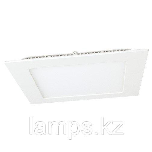 Панель светодиодная, квадратная, белая, встраиваемая, потолочная DL LED KVADRO PANEL18W 6000K