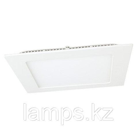 Панель светодиодная, квадратная, белая, встраиваемая, потолочная DL LED KVADRO PANEL18W 6000K, фото 2