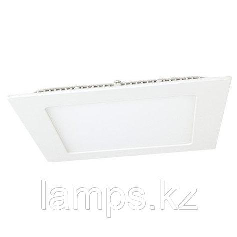 Панель светодиодная, квадратная, белая, встраиваемая, потолочная DL LED KVADRO PANEL 24W 3000K, фото 2