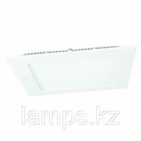 Панель светодиодная, квадратная, белая, встраиваемая, потолочная DL LED KVADRO PANEL 24W 4500K