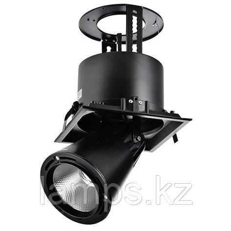 Светильник направленного света, светодиодный, потолочный LED LS-DK911-1 40W 5700K BLACK, фото 2