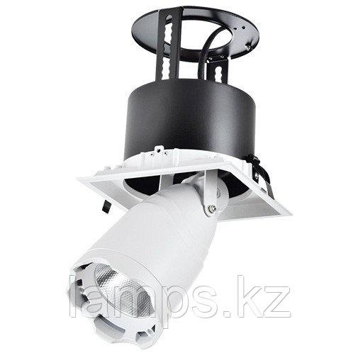 Светильник направленного света, светодиодный, потолочный LED LS-DK912-1 40W 5700K WH