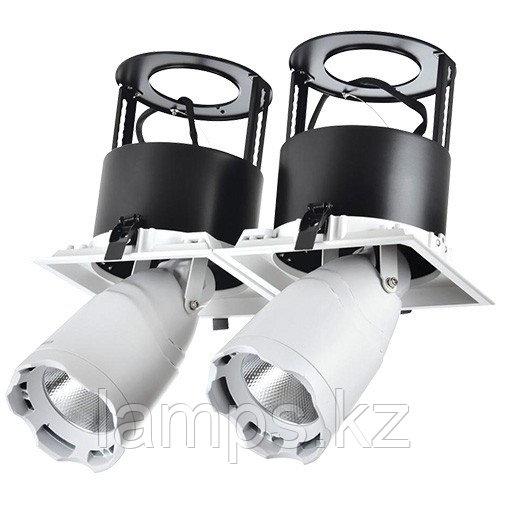 Светильник направленного света, светодиодный, потолочный LED LS-DK912-2 2x40W 5700K WH