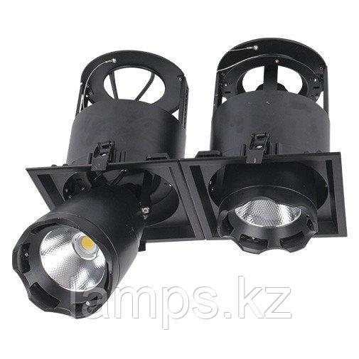 Светильник направленного света, светодиодный, потолочный LED LS-DK912-2 2x40W 5700K BLACK