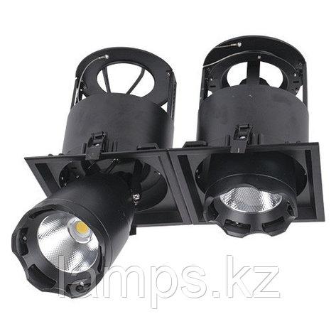 Светильник направленного света, светодиодный, потолочный LED LS-DK912-2 2x40W 5700K BLACK, фото 2