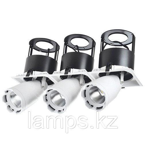 Светильник направленного света, светодиодный, потолочный LED LS-DK912-3 3x40W 5700K WH