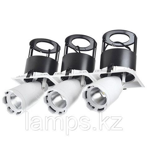 Светильник направленного света, светодиодный, потолочный LED LS-DK912-3 3x40W 5700K WH, фото 2