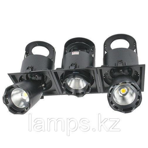 Светильник направленного света, светодиодный, потолочный LED LS-DK912-3 3x40W 5700K BLACK