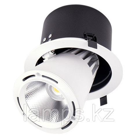 Светильник направленного света, светодиодный, потолочный LED LS-DK908 40W WH 5700K, фото 2