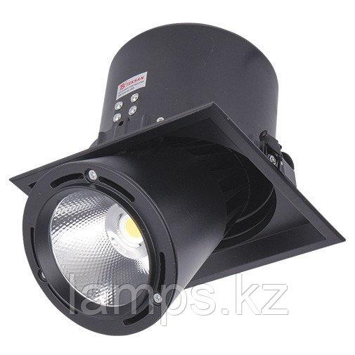 Светильник направленного света, светодиодный, потолочный DL LED LS-DK913-1 40W BLACK 5700K