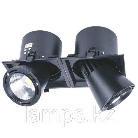 Светильник направленного света, светодиодный, потолочный DL LED LS-DK913-2 2x 40W BLACK 5700K, фото 2