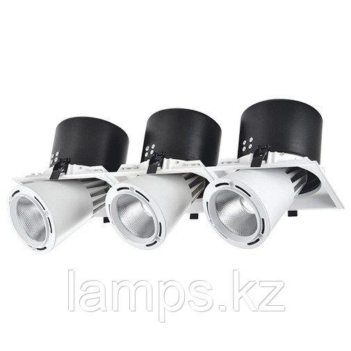 Светильник направленного света, светодиодный, потолочный DL LED LS-DK913-3 3x40W WH 5700K