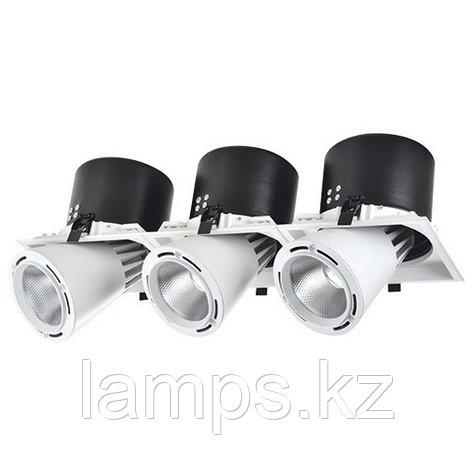 Светильник направленного света, светодиодный, потолочный DL LED LS-DK913-3 3x40W WH 5700K, фото 2