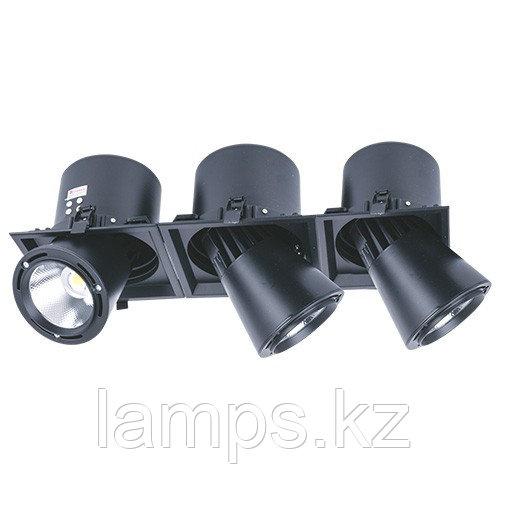 Светильник направленного света, светодиодный, потолочный DL LED LS-DK913-3 3x40W BLACK 5700K