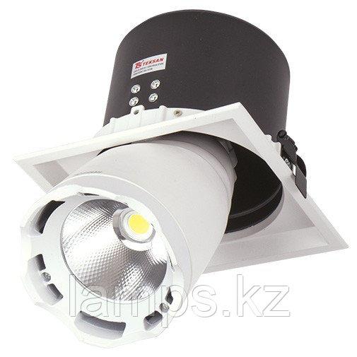 Светильник направленного света, светодиодный, потолочный DL LED LS-DK914-1 40W WH 5700K