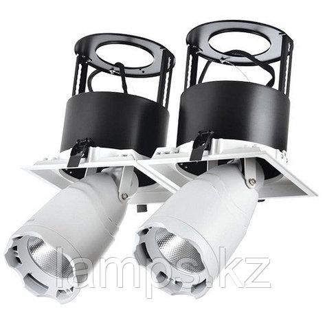 Светильник направленного света, светодиодный, потолочный DL LED LS-DK914-2x40W WH 5700K, фото 2
