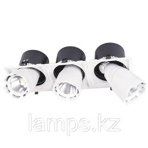 Светильник направленного света, светодиодный, потолочный DL LED LS-DK914-3 3x40W WH 5700K