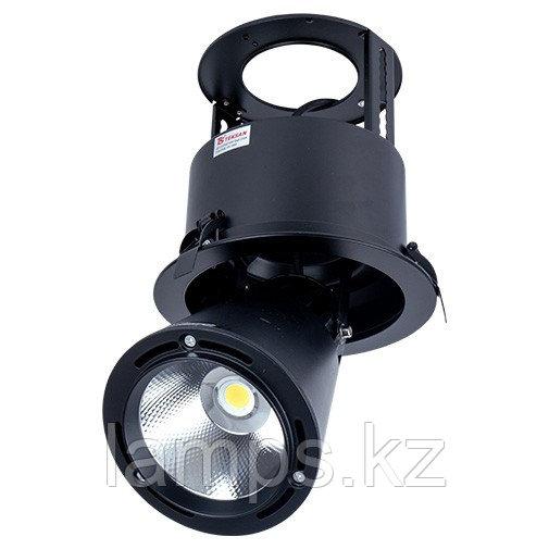 Светильник направленного света, светодиодный, потолочный LED LS-DK907 40W 5700K BLACK